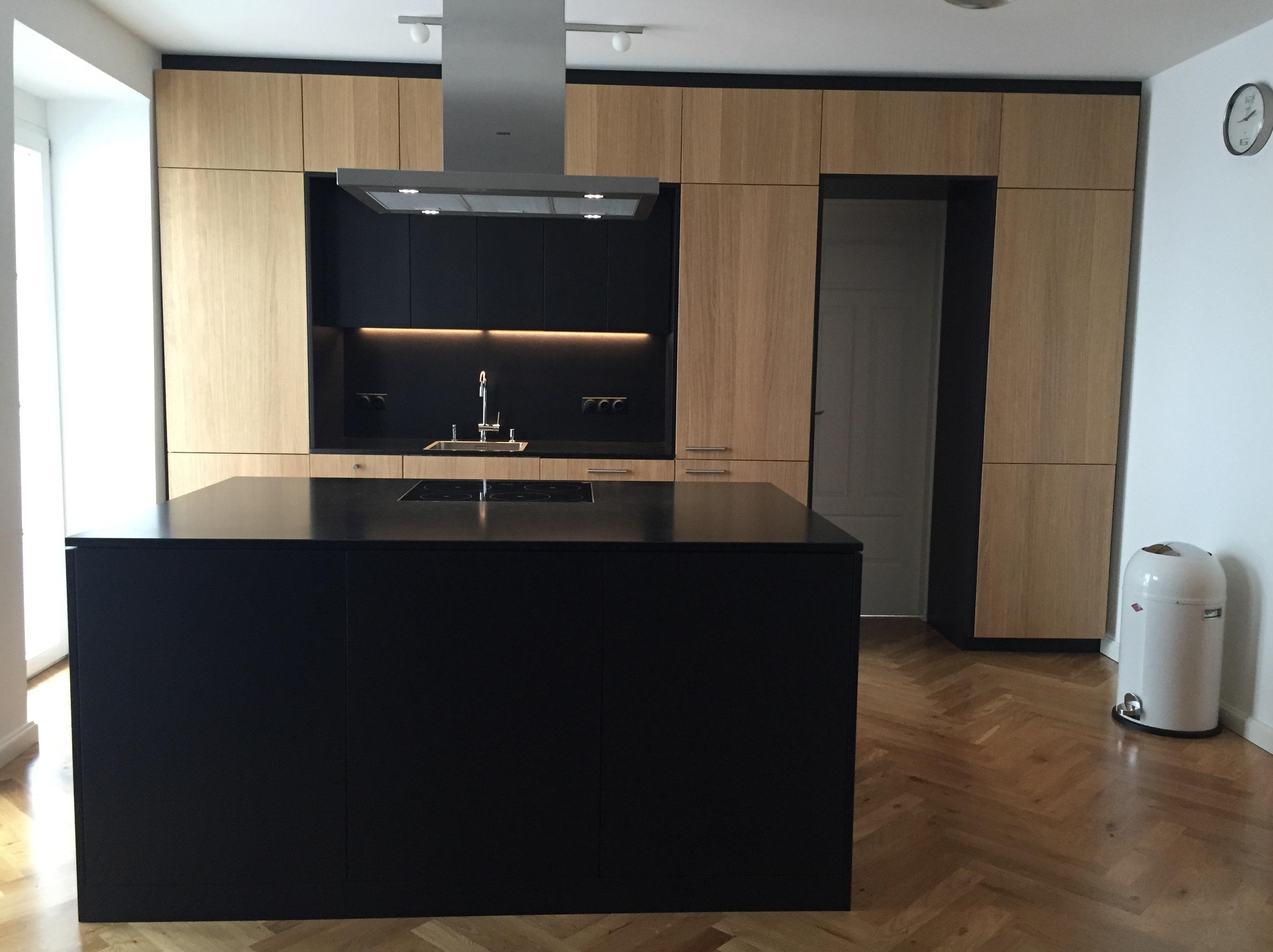 ikea k chen metod grau. Black Bedroom Furniture Sets. Home Design Ideas